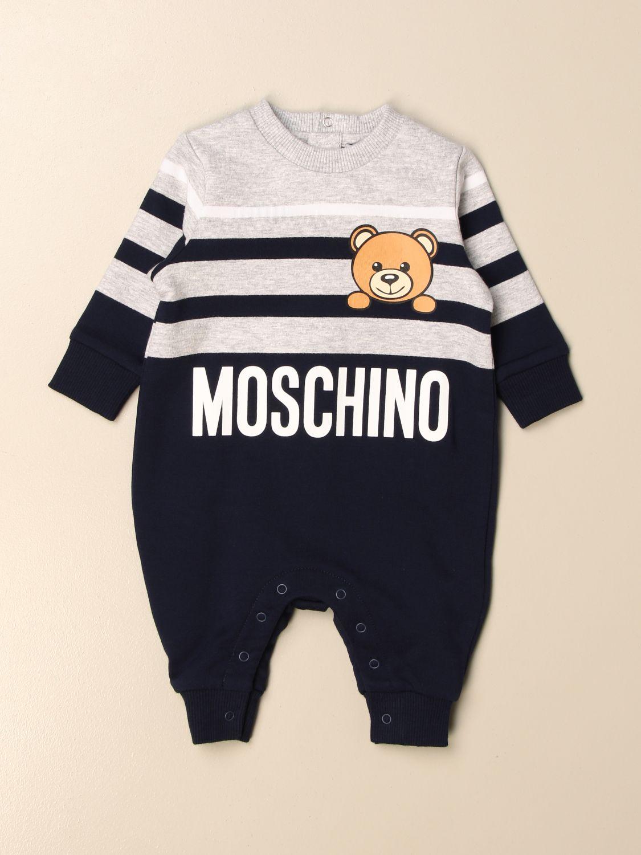 Monopieza Moschino Baby: Monopieza niños Moschino Baby gris 1
