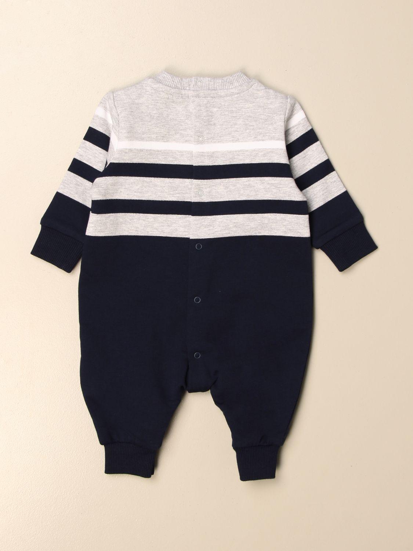 Monopieza Moschino Baby: Monopieza niños Moschino Baby gris 2