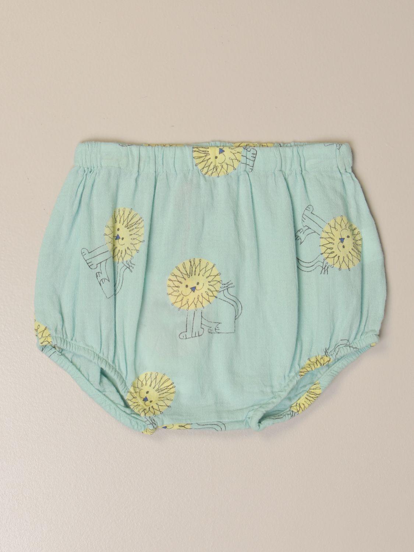 Pantalones cortos Bobo Choses: Pantalones cortos niños Bobo Choses verde 1