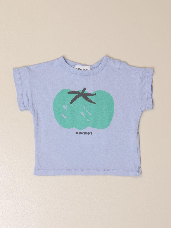 Camiseta Bobo Choses: Camisetas niños Bobo Choses azul claro 1