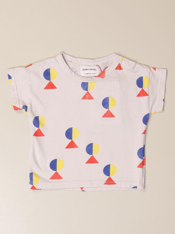 Camiseta Bobo Choses: Camisetas niños Bobo Choses gris 1