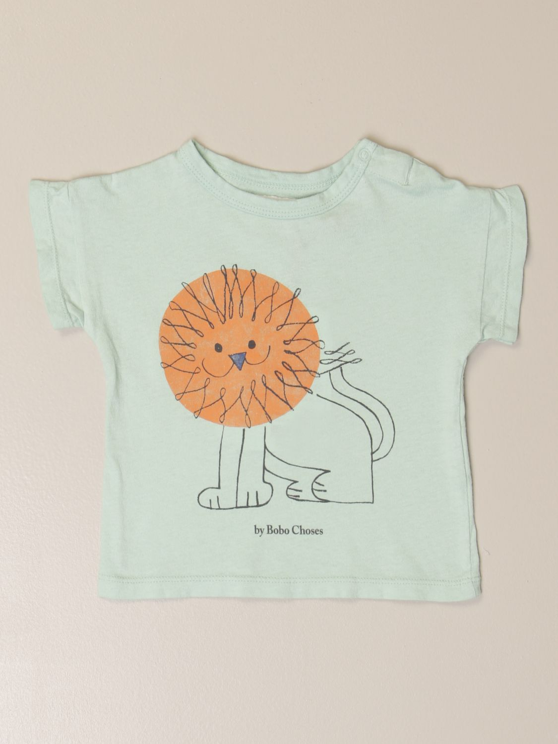 Camiseta Bobo Choses: Camisetas niños Bobo Choses verde 1