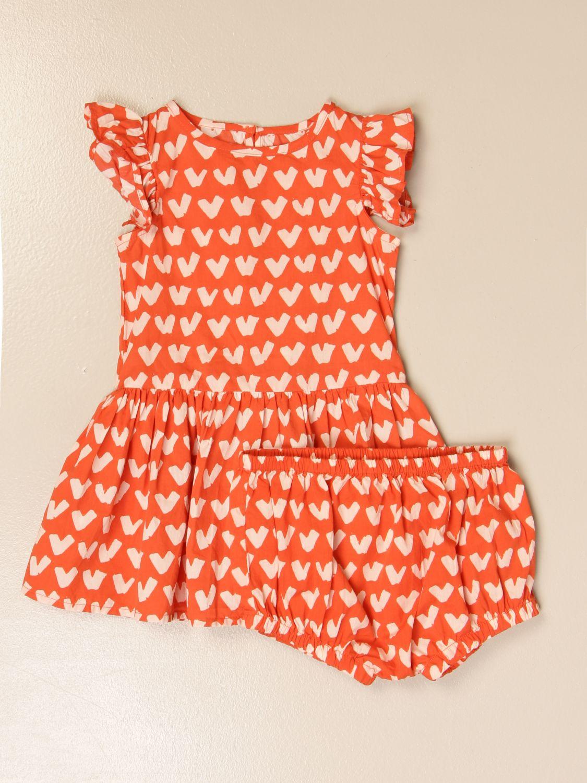 Jumpsuit Stella Mccartney: Stella McCartney short dress with heart pattern red 1