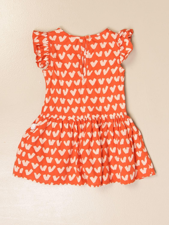 Jumpsuit Stella Mccartney: Stella McCartney short dress with heart pattern red 2
