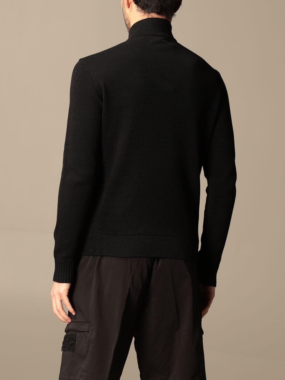 Jumper Stone Island: Stone Island sweater in mercerized cotton black 3