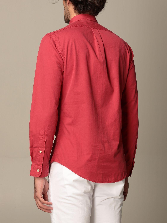 Shirt Polo Ralph Lauren: Polo Ralph Lauren cotton shirt with button down collar red 2