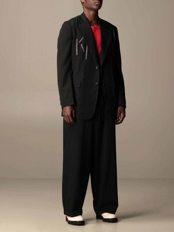 西服外套 Yohji Yamamoto: 外套 男士 Y3 Yohji Yamamoto 黑色 2
