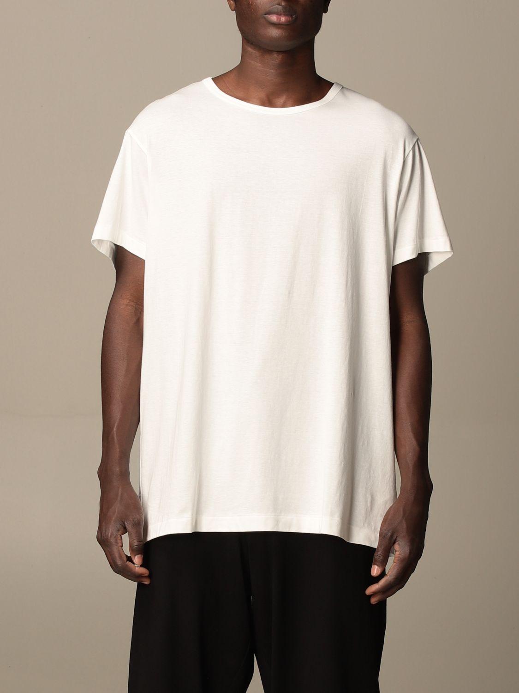 T-shirt Yohji Yamamoto: T-shirt Yohji Yamamoto in cotone bianco 1