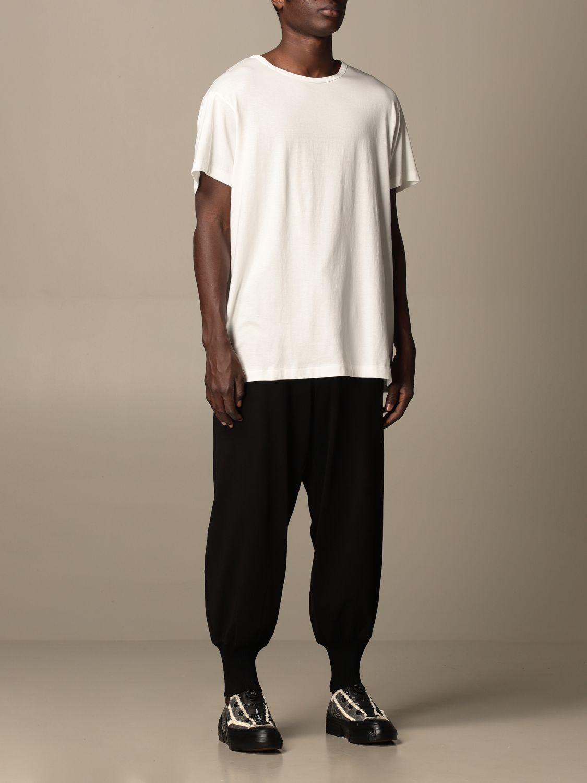 T-shirt Yohji Yamamoto: T-shirt Yohji Yamamoto in cotone bianco 2