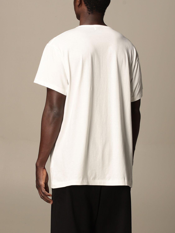 T-shirt Yohji Yamamoto: T-shirt Yohji Yamamoto in cotone bianco 3