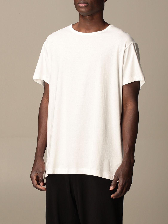 T-shirt Yohji Yamamoto: T-shirt Yohji Yamamoto in cotone bianco 4