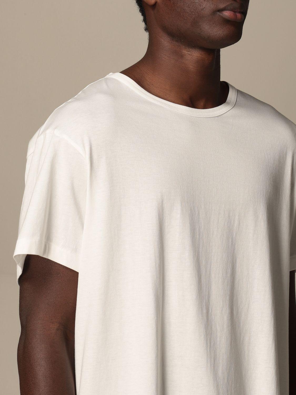 T-shirt Yohji Yamamoto: T-shirt Yohji Yamamoto in cotone bianco 5