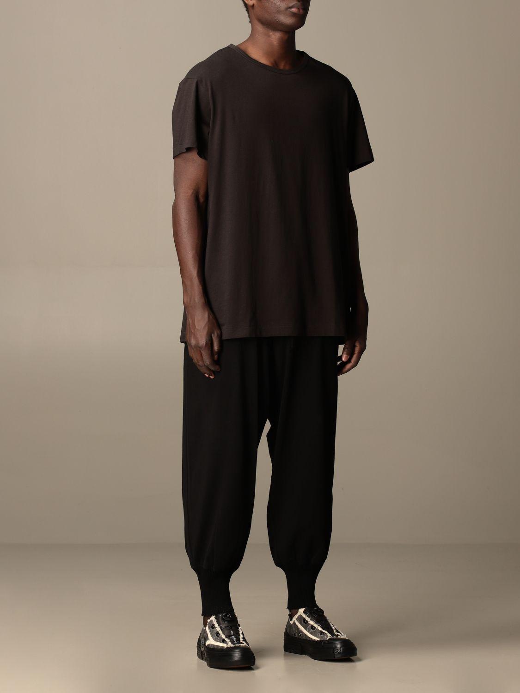T-Shirt Yohji Yamamoto: T-shirt herren Y3 Yohji Yamamoto grau 2