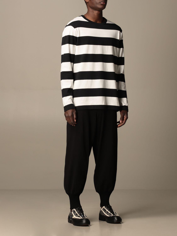 Pantalone Yohji Yamamoto: Pantalone Yohji Yamamoto in cotone nero 2