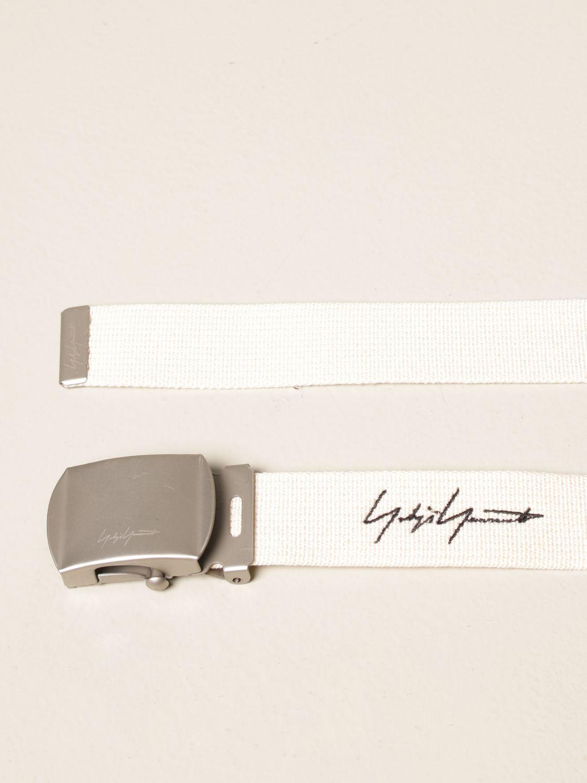 Cinturón Yohji Yamamoto: Cinturón hombre Y3 Yohji Yamamoto marfil 2