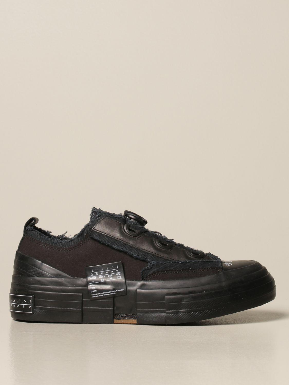Sneakers Yohji Yamamoto: Sneakers Yohji Yamamoto in tela nero 1