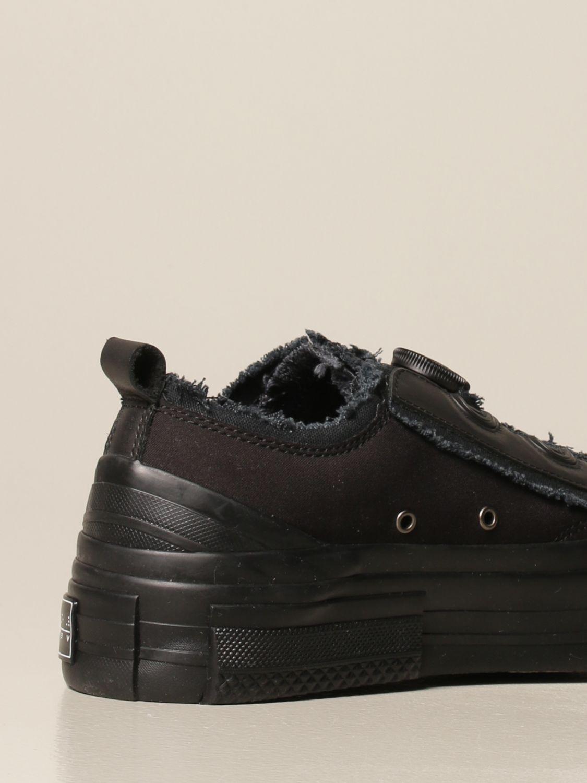 Sneakers Yohji Yamamoto: Sneakers Yohji Yamamoto in tela nero 3