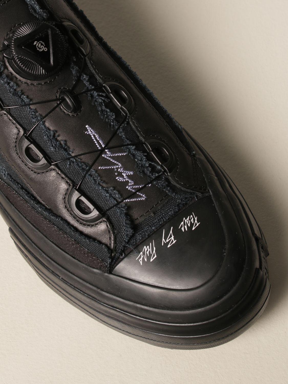 Sneakers Yohji Yamamoto: Sneakers Yohji Yamamoto in tela nero 4