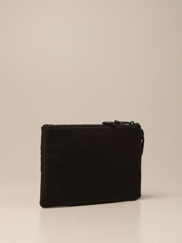 Portadocumenti Versace Jeans Couture: Pochette Versace Jeans Couture in nylon nero 2