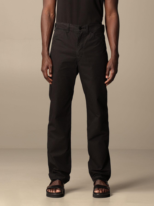 Pantalón Lemaire: Pantalón hombre Lemaire negro 1