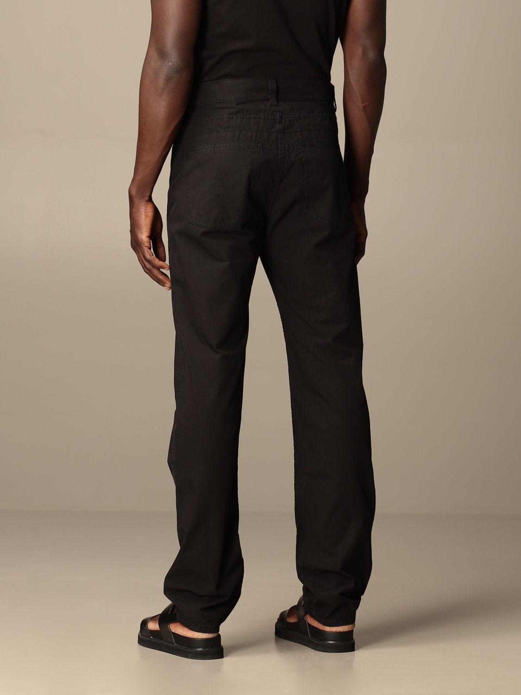 Pantalón Lemaire: Pantalón hombre Lemaire negro 2