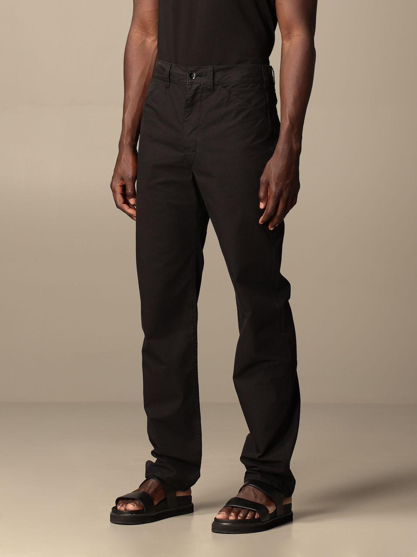 Pantalón Lemaire: Pantalón hombre Lemaire negro 3