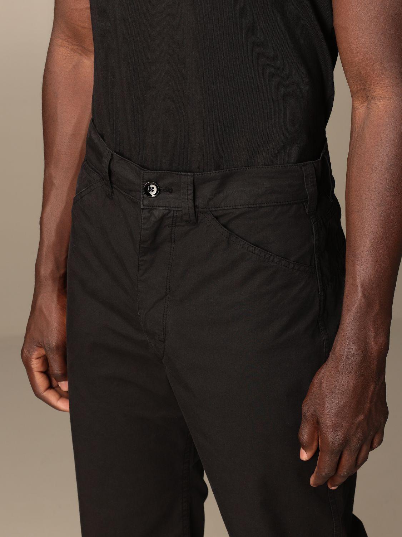 Pantalón Lemaire: Pantalón hombre Lemaire negro 4