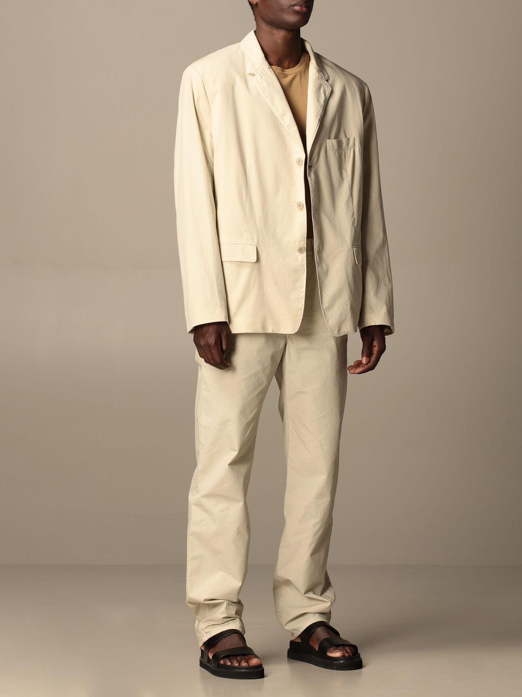 Pantalón Lemaire: Pantalón hombre Lemaire gris 2