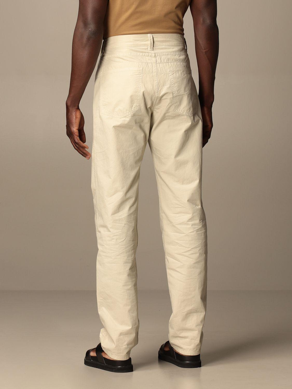 Pantalón Lemaire: Pantalón hombre Lemaire gris 3