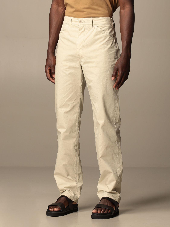 Pantalón Lemaire: Pantalón hombre Lemaire gris 4