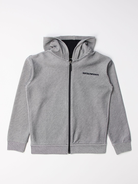 Sweater Emporio Armani: Sweater kids Emporio Armani white 1