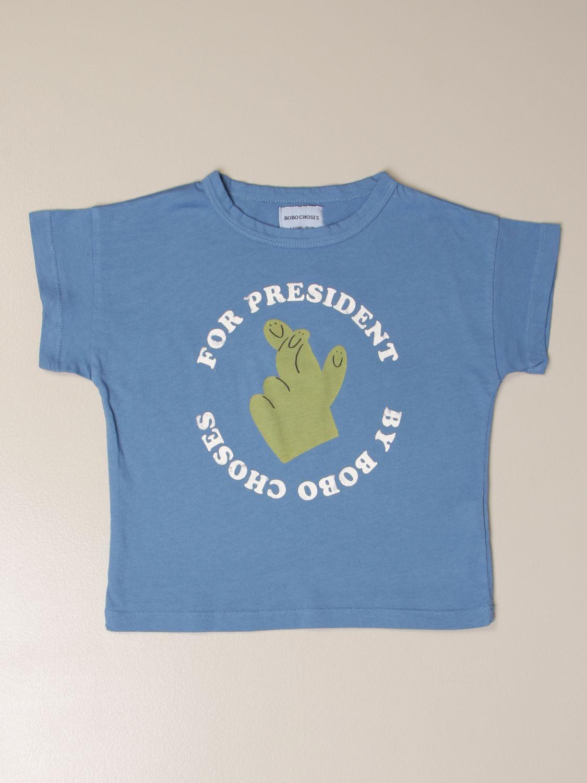 Camisetas Bobo Choses: Camisetas niños Bobo Choses azul oscuro 1