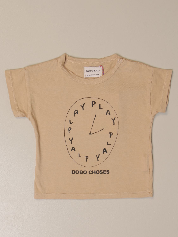 Camiseta Bobo Choses: Camiseta niños Bobo Choses beige 1