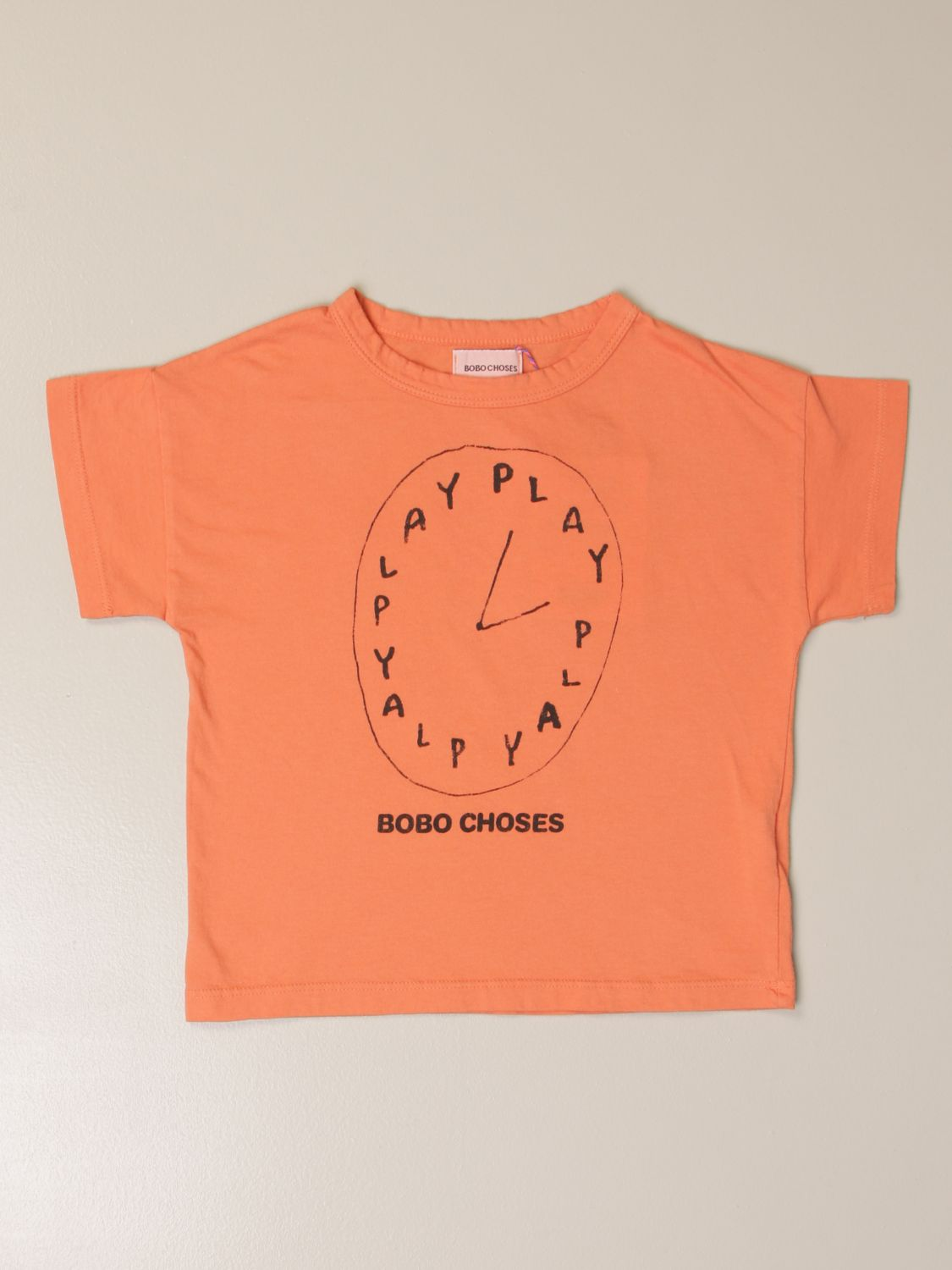 Camisetas Bobo Choses: Camisetas niños Bobo Choses naranja 1