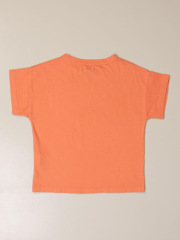 Camisetas Bobo Choses: Camisetas niños Bobo Choses naranja 2