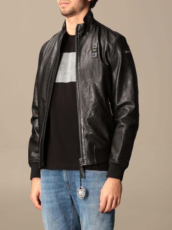 Veste Blauer: Manteau homme Blauer noir 3