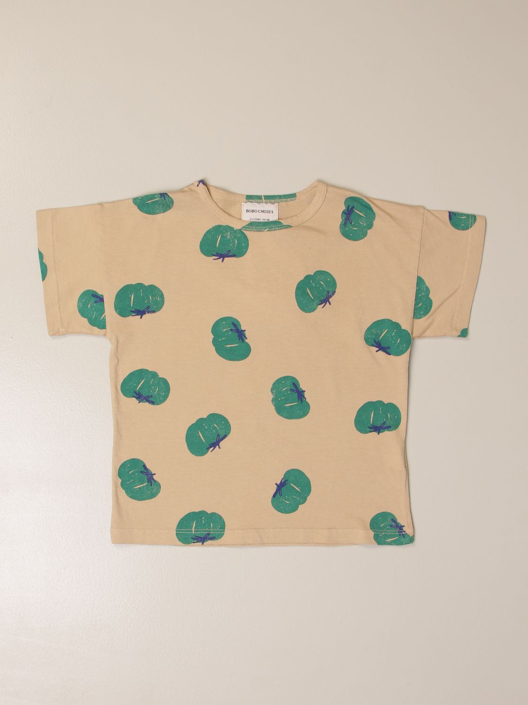 Camisetas Bobo Choses: Camisetas niños Bobo Choses beige 1