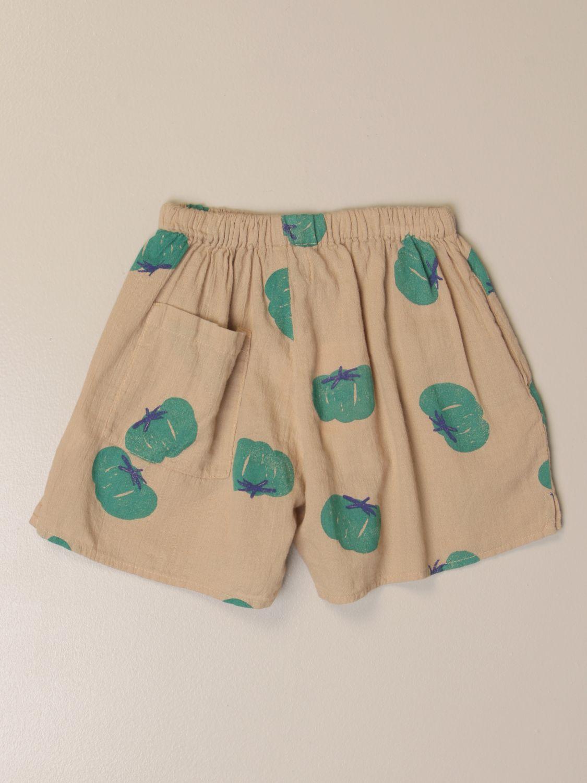 Pantalones cortos Bobo Choses: Pantalones cortos niños Bobo Choses beige 2