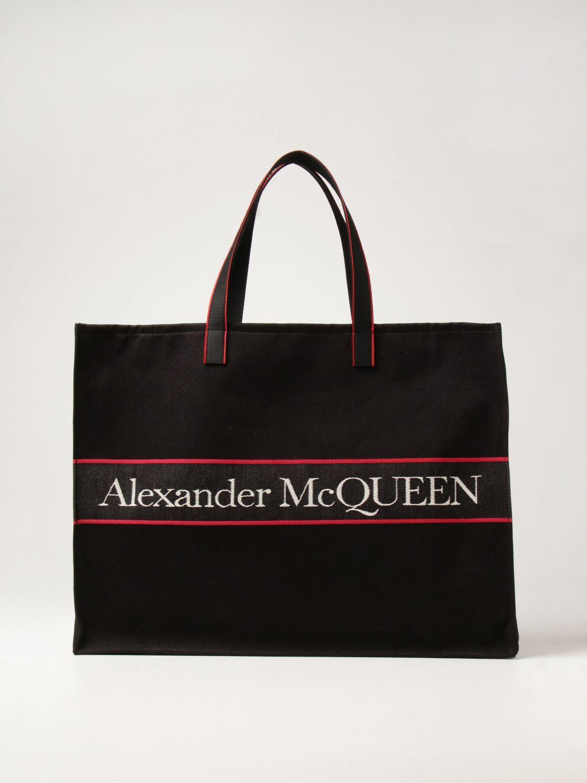 Bolso Alexander Mcqueen: Bolso hombre Alexander Mcqueen negro 1