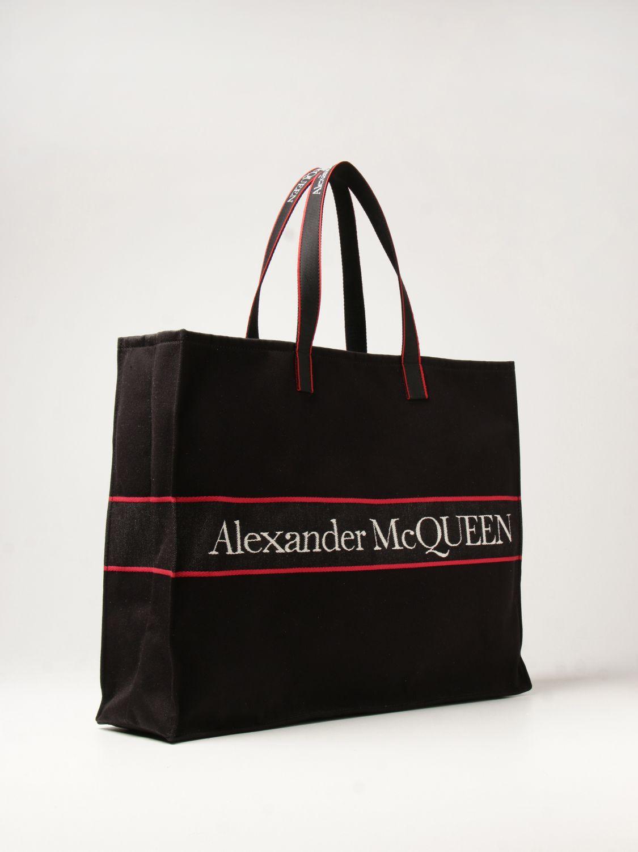 Bolso Alexander Mcqueen: Bolso hombre Alexander Mcqueen negro 2