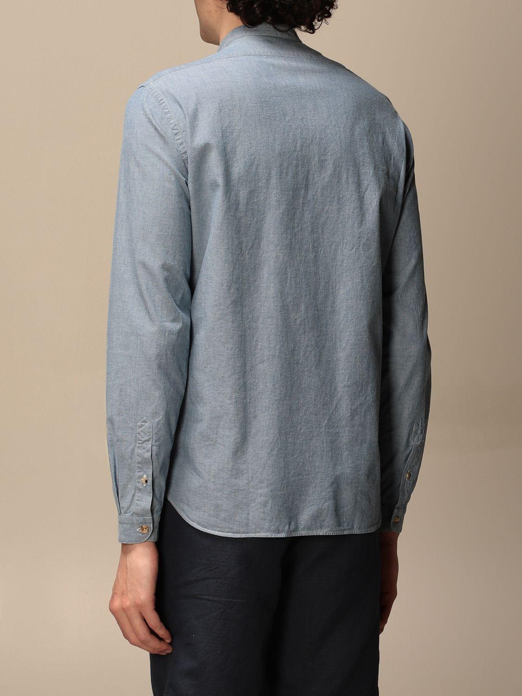 Camicia Boglioli: Camicia alla coreana Boglioli nero 2