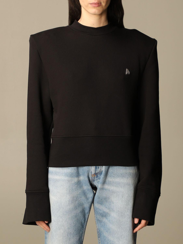 Sweatshirt The Attico: Sweatshirt damen The Attico schwarz 1