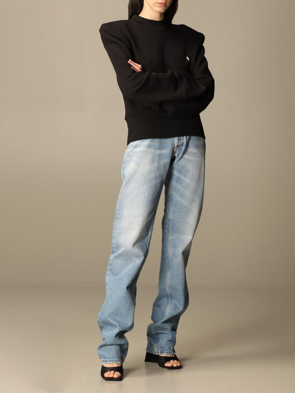 Sweatshirt The Attico: Sweatshirt damen The Attico schwarz 2