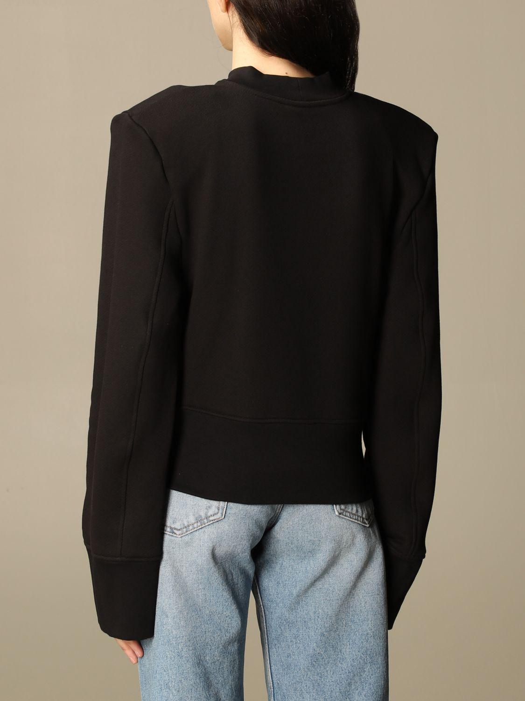 Sweatshirt The Attico: Sweatshirt damen The Attico schwarz 3