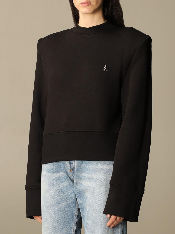 Sweatshirt The Attico: Sweatshirt damen The Attico schwarz 4