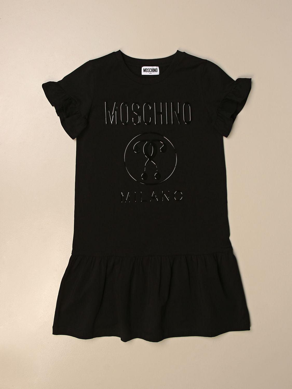 Robe Moschino Kid: Robe enfant Moschino Kid noir 1