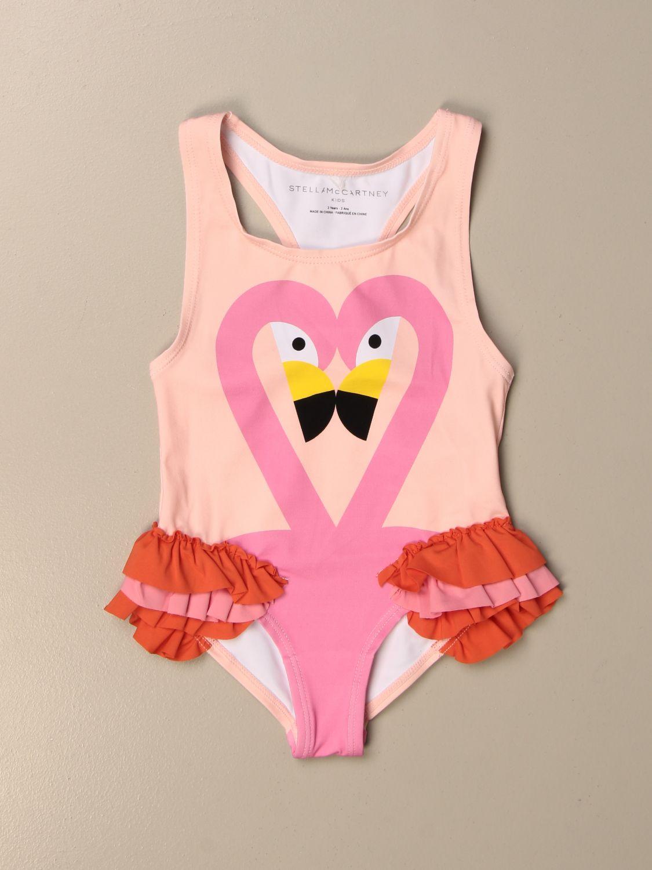 Swimsuit Stella Mccartney: Stella McCartney one-piece swimsuit with flamingo print pink 1