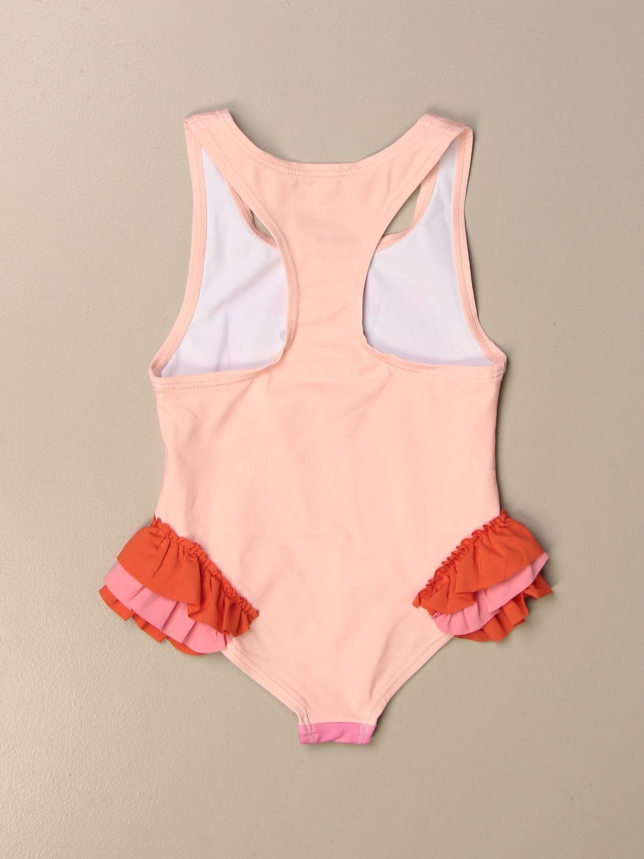 Swimsuit Stella Mccartney: Stella McCartney one-piece swimsuit with flamingo print pink 2