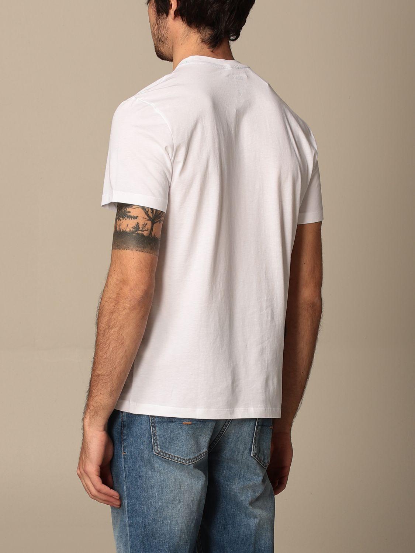 T-shirt Blauer: T-shirt Blauer in cotone con logo bianco 2