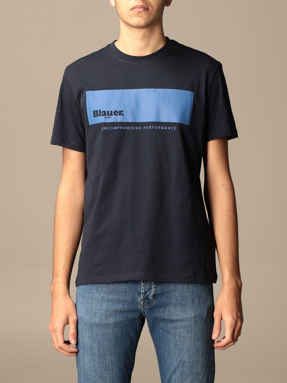 T-shirt Blauer: T-shirt men Blauer sapphire 1